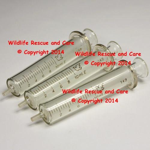 Glass 10 ml Syringes