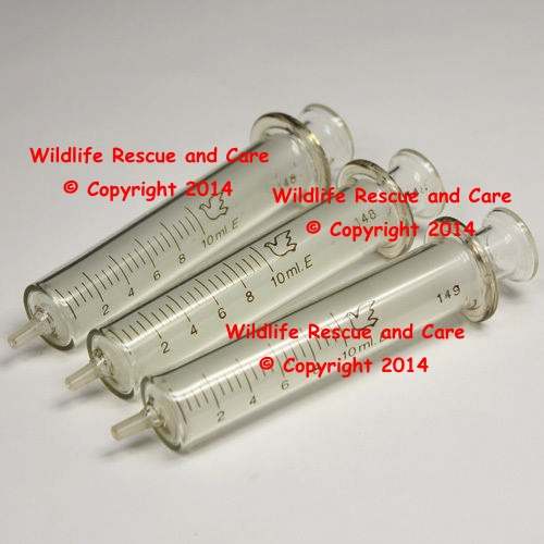 Glass 10 ml Syringes
