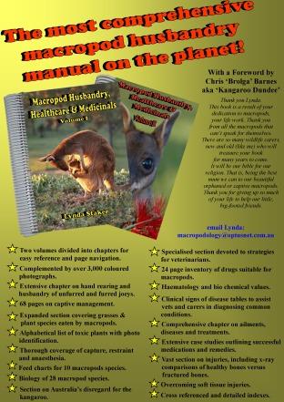 Lynda Stakers new Manual 2014 Macropod Husbandry, Healthcare & Medicinals
