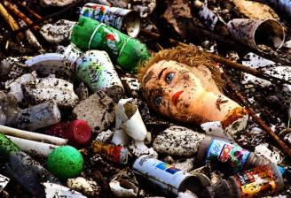 discarded-plastic