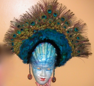 peacock mask June 2008 004